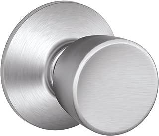 Schlage F10VBEL626 Bell Passage Knob, Brushed Chrome