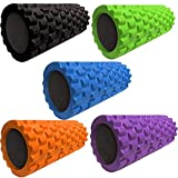 Wearslim Long Acupressure Foam Roller for Deep Tissue Muscle Massage Exercise Fitness
