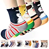 Womens Casual Socks - Cute Crazy Lovely Animal Cats Dogs Pattern Good...