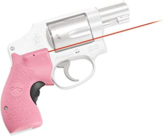 Crimson Trace LG-105 Laser-Grip for S and W J-Frame Round But, Pink