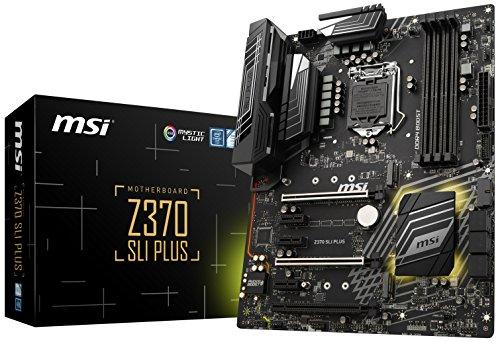 Z370 SLI PLUS, LGA 1151, HDMI, DDR4, 2x Turbo M.2 & 10x USB 3.1(2x Gen 2 & 8x Gen1)