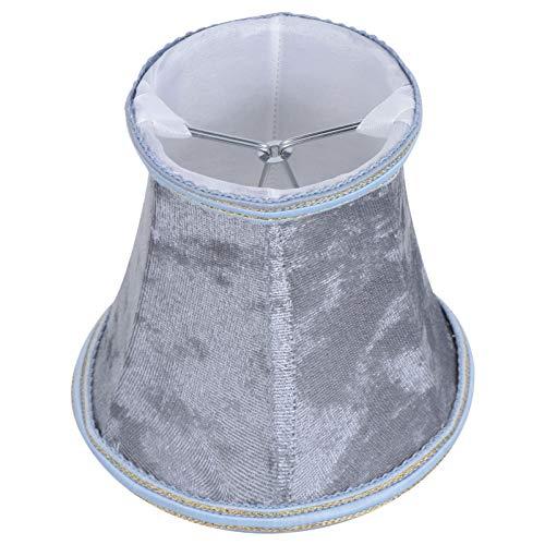 UKCOCO Reemplazo de La Pantalla de La Lámpara de Campana para La Pantalla del Piso Y La Lámpara de Mesa Cubierta de La Pantalla de La Lámpara Rústica Antigua Plateado