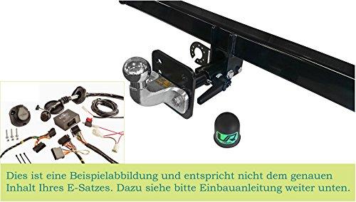 UmbraRimorchi Anhängerkupplung fest Kugelkopf, austauschbar mit 13p Spezifischer E-Satz Kompatibel mit Jeep Wrangler 4WD 2007+ UT190COR17ZSFM/WS21610502DE1