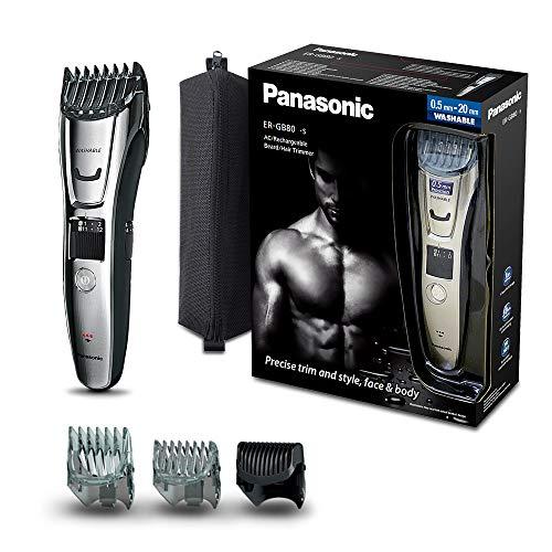 Panasonic ER-GB80-S503 Regolabarba e Tagliacapelli Impermeabile e...