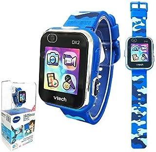 【costco コストコ】【Vtech】Kidizoom Smart Watch DX2 ヴィテック キッズズーム スマートウォッチ ブルー迷彩柄