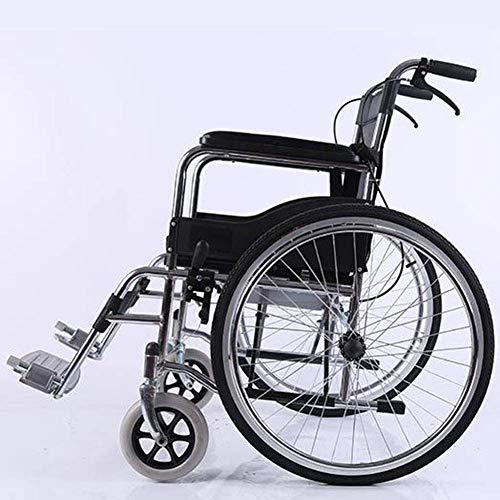 WZB - Wheelchair Aluminiumlegierungs-Leichter Rollstuhl, Der Den Manuellen Rollstuhl, Medizinischen Erwachsenen Untauglichen Faltenden Rollstuhl Fahrend Faltet Leichter Faltender Rollstuhl