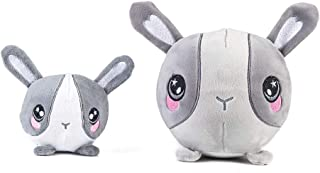 LOTFUNTOYS CRUISTORE(Gwen The Bunny) Squishy Foamed Stuffed Animal | Set of 2 PC( 6 Assorted Characters) | Soft, Smooth,Washable,Lightweight ,Adorable Gift for Kids Boys and Girls