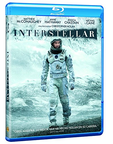 Interstellar Blu-Ray [Blu-ray]