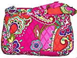 Vera Bradley Little Hipster with Solid Interiors (Pink Swirls with Pink Interior)
