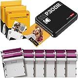 Kodak Mini 3 Stampante portatile per Smartphone + 6 Cartucce, Foto istantanee formato quadrato 76x76...
