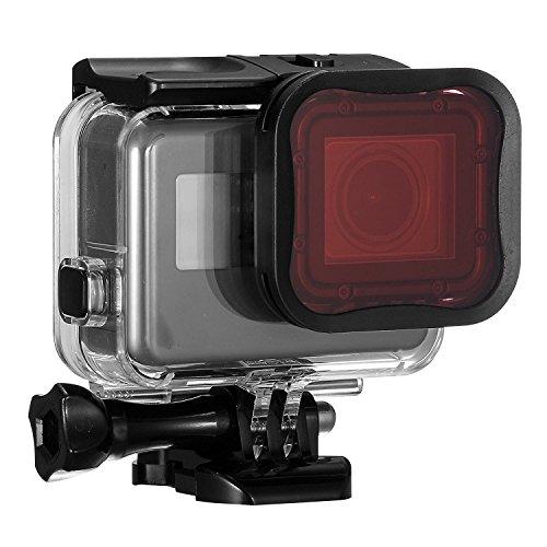 【Taisioner】GoProHERO7/6/5専用外線透過フィルター三つタイプレンズフィルターキット水中撮影セット3個入り