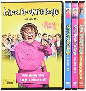 Mrs. Brown's Boys: Complete Series (B0149GT132) | Amazon price tracker / tracking, Amazon price history charts, Amazon price watches, Amazon price drop alerts