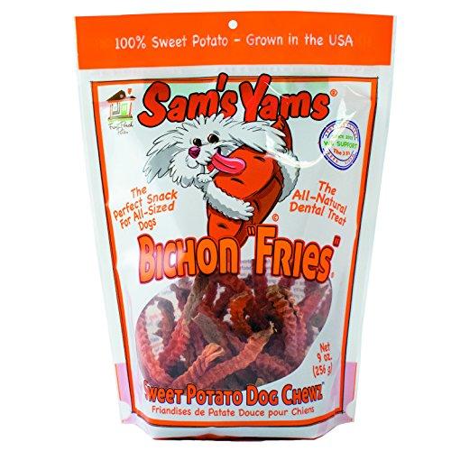 Sams Yams Sweet Potato Dog Chewz - Bichon Fries 9oz
