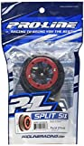 Pro-Line Racing 2714-04 Split Six 2.2'/3.0' Red/Black Bead-Loc Front Wheels