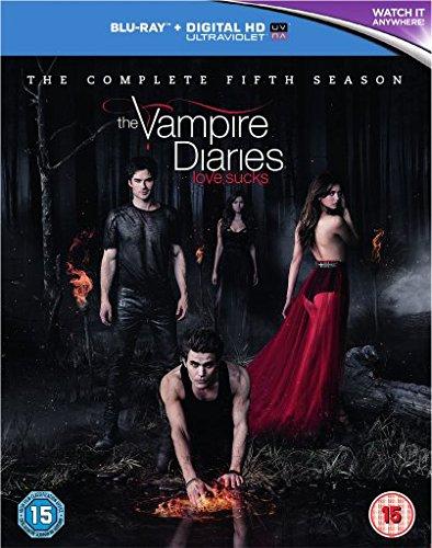 The Vampire Diaries - Staffel 5 [Blu-ray + Digital HD] [UK Import]
