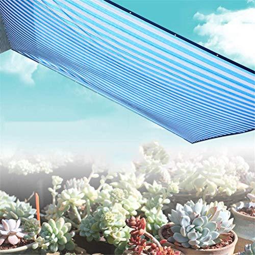 Universele buitenschaduw Sunblock-doek 85% Schaduw Zon Meshbestendig Nettotarief Tuinbloem Plant Carports Windscherm Schaduwgaasstof, 4 * 4m