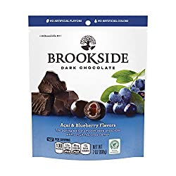 BROOKSIDE Dark Chocolate Candy, Acai & Blueberry, 7 Ounce