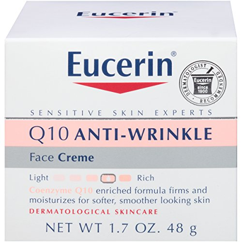 51qAxJlItnL - Eucerin Q10 Anti Wrinkle Day Face Cream + Night Cream | 1.7 Oz (2 Pack)