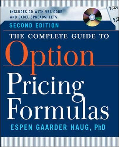 The Complete Guide to Option Pricing Formulas