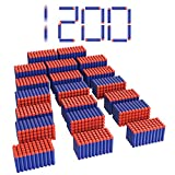 Titoclar Blaster Darts, 1200 Pack Refill Bullets for Nerf Guns N-Strike Elite, Toys Foam Blasters Gifts for Boys Party Favors