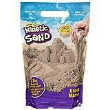 Kinetic Sand The Original Moldable Sensory Play Sand, Brown, 2 Pounds