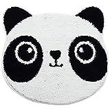 yqs Felpudos Lindo panda Alfombra de piso para alfombras de entrada Alfombras...