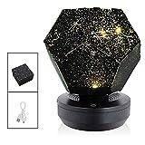 PXN DIY Sternenhimmel Nachtlicht LED Sternenhimmel Projektionslampe Astronomische Sternenhimmel Projektion LED Lampe Universum Lampe Kinder Geschenk Home Decoration, Blau