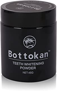 45g Teeth Whitening Cleaning Teeth- Charcoal Powder Natural Teeth Whitening (Style C Bottokan)