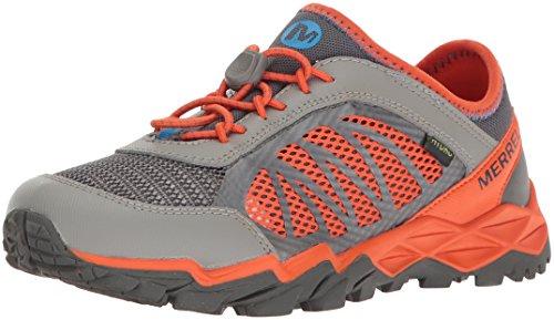 Merrell Merrell Jungen Ml-s Hydro Run 2.0 Traillaufschuhe, Mehrfarbig (Grey/Orange), 30 EU