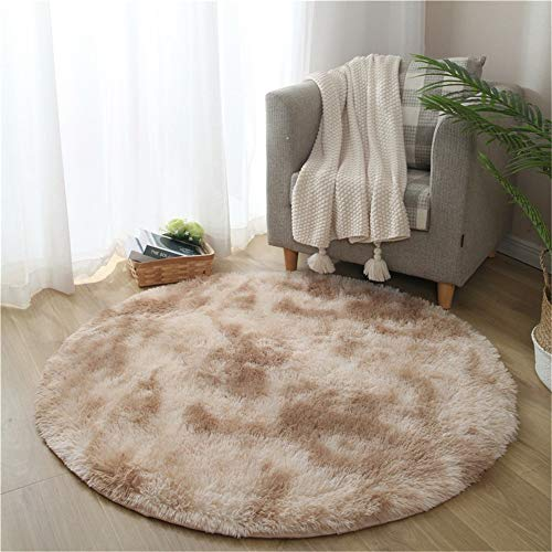 MMHJS Nordic Minimalist Tie-Dye Carpet Gradient Color Soft Non-Slip Non-Linting Mat Suitable For Living Room Bedroom Decoration Hotel Party