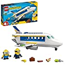 LEGO 75547 Minions Minion Pilot in Training Buildable Plane Toy with Bob and Stuart, Toys For 4+ Kids