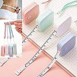 Sin marca 150 cm / 60'cinta métrica Regla telescópica Regla de altura para niños Cm Cm Cinta métrica Regalo de niña Color al azar 1.5 M al azar1