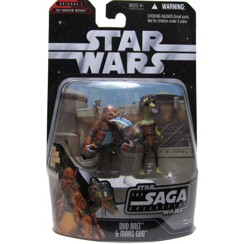 Saga 2 Carded Dud Bolt and Mars Guo