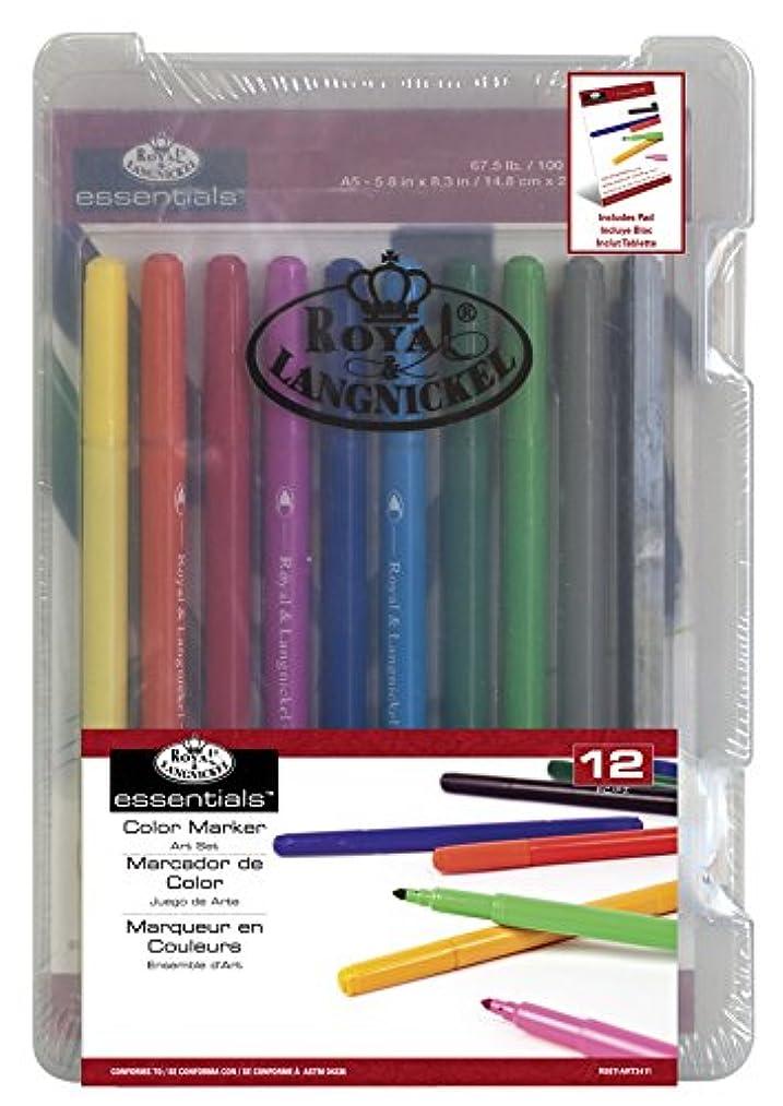 ROYAL BRUSH Clearview Mini Art Set-Color Marker 12pc