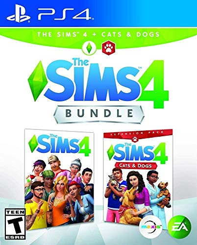 The Sims 4 Plus Cats & Dogs Bundle - Ps4