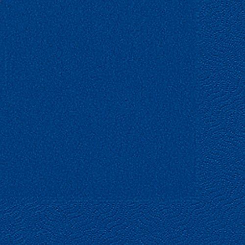 Duni Servietten 3lagig Tissue Uni dunkelblau, 33 x 33 cm, 20 Stück