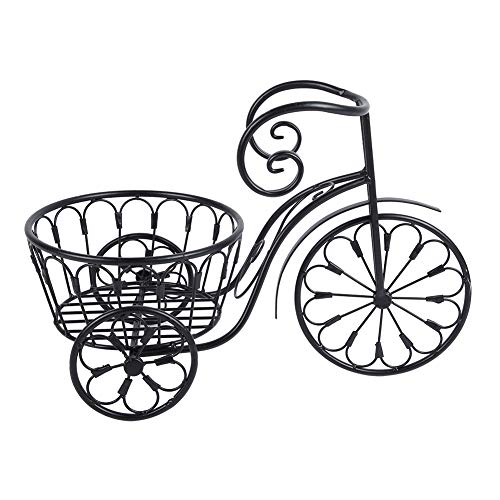 Nostalgische Fahrrad-Dekoration für Haus und Garten, stehendes Regal, Eisen