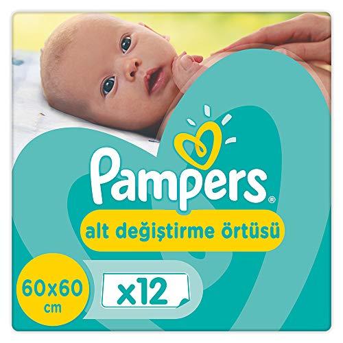 Pampers Wickelunterlage - 2 Packungen à 12 Stück [24 Stück]