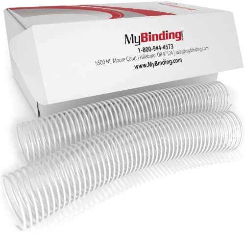 45mm White 4:1 Pitch Spasm price Spiral Binding Coil - 50pk Selling rankings