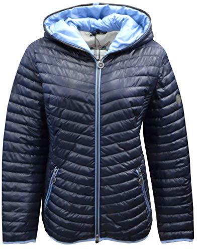 BARBARA LEBEK Damen-Daunen-Optik-Jacke mit integrierter Kapuze (48)