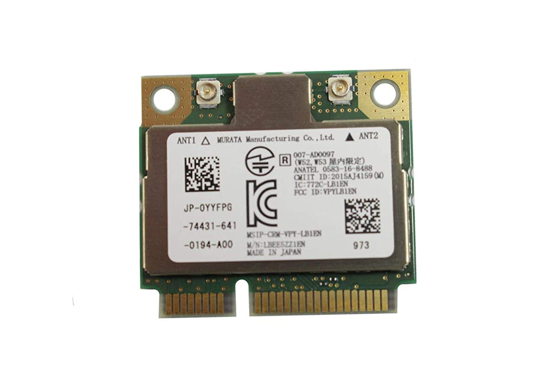 ワットパック甘やかすEbidDealz - 7260 PCI Express ハーフミニカード プラグインカード ワイヤレスWANカード YYFPG 0YYFPG CN-0YFPG LBEE5ZZ1EN