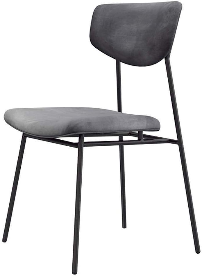 FHW Cuisine Salle à manger Chaises Bureau Chaise Côté Salon Chaise Chambre Loisirs Tabouret empilable Portable, Max.150 kg chaise (Color : Green) Black