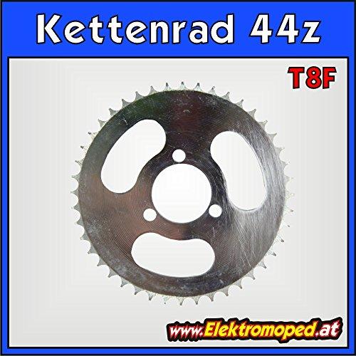 'T8F de 44z Cadenas Rueda trasera con 44dientes para grosor Cadena