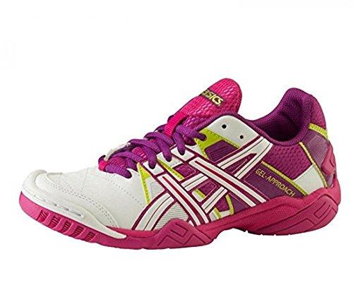 Ind-Schuh Gel-Approach 2 W - white/purple/pink, Größe INT:7