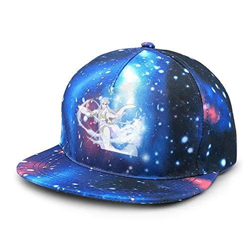 FXNOW Sombrero para Hombre Sode No Shirayuki Rukia's Zanpakuto Starry Sky Gorras de béisbol
