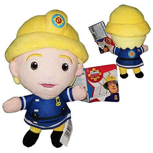 Feuerwehrmann Sam (Fireman Sam) - Plüsch Feuerwehrfrau Penny Morris 10'62/27cm Qualität super Soft