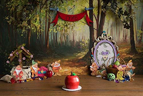 Fondo de Ducha de bebé recién Nacido Fondo de decoración de Fiesta de cumpleaños Fondo de fotografía de niños Estudio fotográfico A2 7x5ft / 2,1x1,5 m
