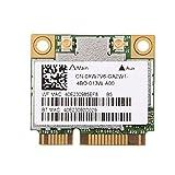 fosa Carte WiFi avec PCI-E interfaec, 600Mbps Dual Band 2.4 GHz/5 GHz Carte Bluetooth WiFi pour DELL/Asus/Acer/Lenovo/HP