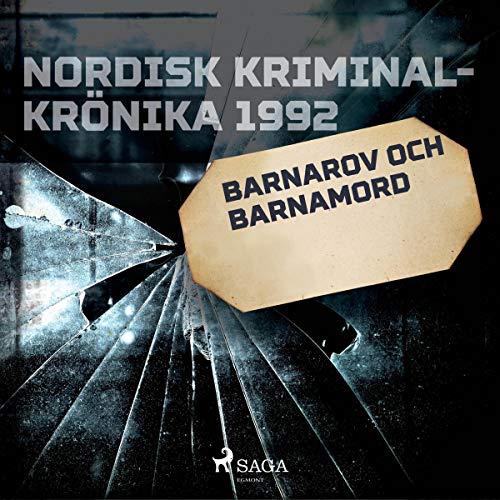Barnarov och barnamord audiobook cover art