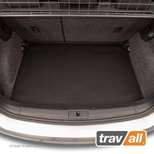 Travall Liner Tapis en Caoutchouc Compatible avec Volkswagen Polo Hayon (2009-2017) TBM1114 - Tapis de Coffre en Caoutchouc sur Measure